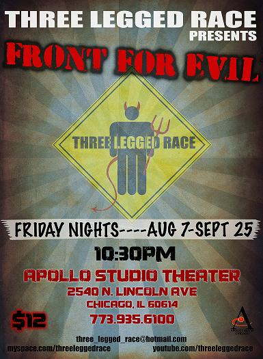 Poster for Front for Evil